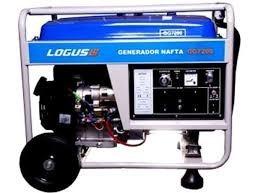 Grupo Electrogeno Logus 6000 W 13 Hp Arranque Electrico