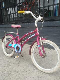 Bicicleta Rodado 20 Infantil Olmo Winona Nena