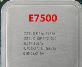 Processador Intel Core 2 Duo E7500 Socket 775 C/ Garantia