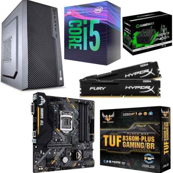 Pc M1 One I5 9400 Tuf B360m Plus Gaming Hx 16gb Gp400