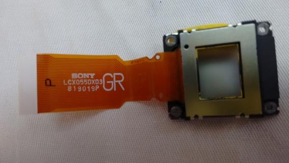 Lcd Do Projetor Sony Vpl-es5 - Lcx055dxd3- Uma Peça Usado