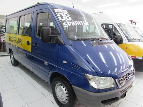 Mercedes-benz Sprinter Escolar Azul 2008