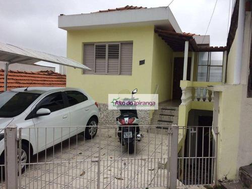 Sobrado Com 6 Dormitórios À Venda, 280 M² - Jardim Da Glória - São Paulo/sp - So1191