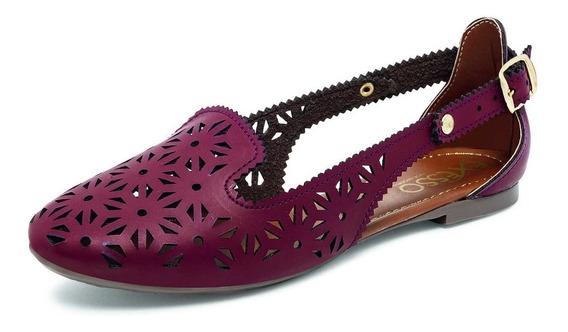 Zapatos Flats Dama / Vino