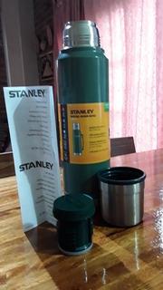 Termo Stanley Clasico. 1 Litro.color Verde