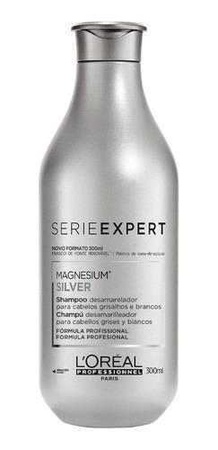 Imagem 1 de 8 de Shampoo L'oréal Professionnel Serie Expert Silver - 300ml