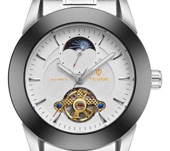 Relógio Tevise Automático Original Cx Presente