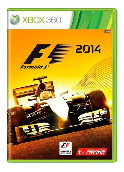 Formula 1 2014 Xbox 360 Mídia Física Pronta Entrega