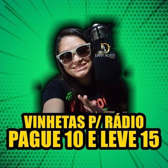 10 Vinhetas P/ Web Rádio + 5 Vinhetas Grátis (5 Seg Cada)