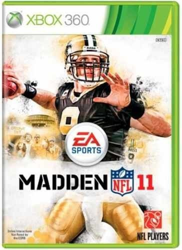 Madden Nfl 11 Xbox 360 Original Frete R$15