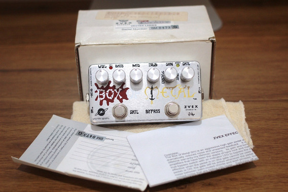 Zvex Effects Vexter Box Of Metal Distortion