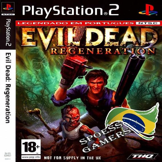 Evil Dead Ps2 Regeneration Português Pt-br Patch Terror