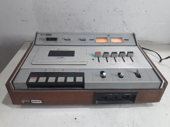 Cassete Tape Deck Deitado Cce Collaro Cd-724 No Estado