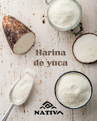 Harina Nativa De Yuca