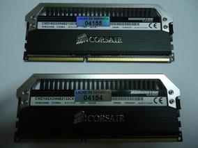 Kit De Memórias Ddr3 Corsair Dominator Platinum 8gb 2133mhz