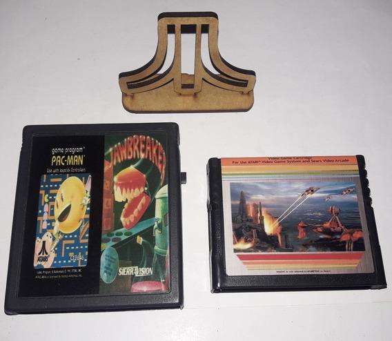 Atlantis+2in1 Jawbreaker/ Pac-manPara Atari