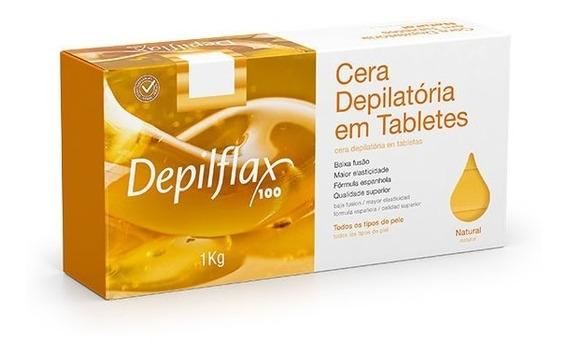 Cera Depilatória Depilflax Natural 1 Kg