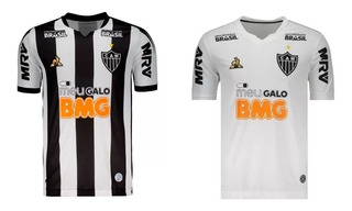 Kit 2 Camisas Atletico 2019 Tradicional E Branca Fret Gratis