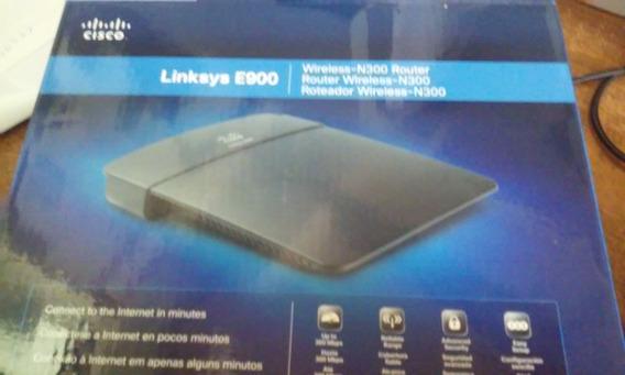 Modem Wireless Router Linksys E900
