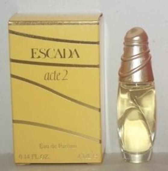 Miniatura De Perfume: Escada - Acte 2 - 4 Ml - Edp