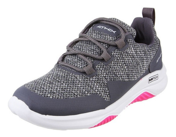 Athix Zapatillas Running Mujer Life Gris