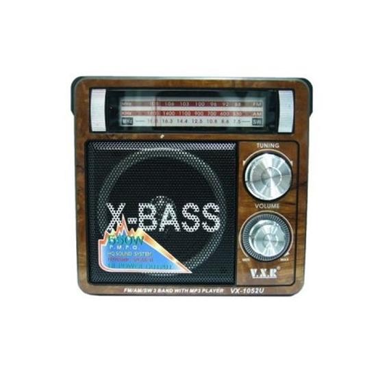 Caixa De Som Bluetooth Radio Usb E Sd Com Fm Am Sw Lanterna