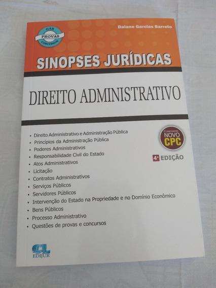 Sinopses Jurídicas - Direito Administrativo
