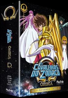 Dvd Os Cavaleiros Do Zodíaco - Ômega - 2ª Temporada - Vol. 2