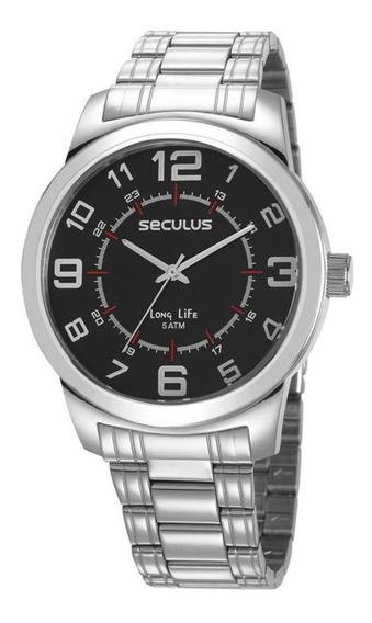 Relógio Masculino Seculus Analógico 23641g0svna2