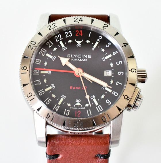Relógio Glycine Airman Base 22 Purist - Automático