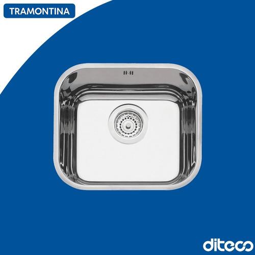 Imagen 1 de 1 de Tramontina 94020/203 Bacha Rect. 40x34x17 4.1/2 Alto Brillo