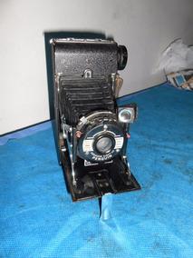 Antiga Maquina Fotografica Inglesa Marca Penguin Fole