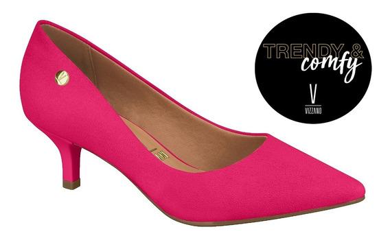 Zapatos *** Vizzano*** Stiletto Taco Bajo 5 Cm Rosa Pink