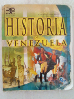 Historia De Venezuela. María Josefina Bravonegociable