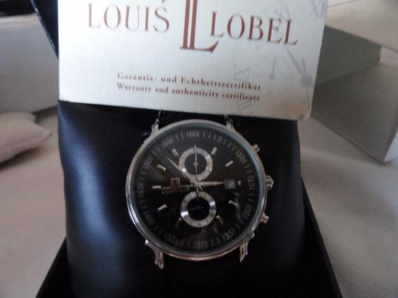 Louis Lobel Estilista Famoso Caixa E Documentos 43mm