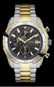 Relógio Guess Masculino Bicolor Fundo Preto 92593gpgsba2