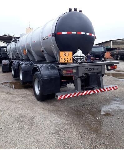 Imagem 1 de 11 de Carreta Tanque Para Transporte De Soda, Silicato E Químicos