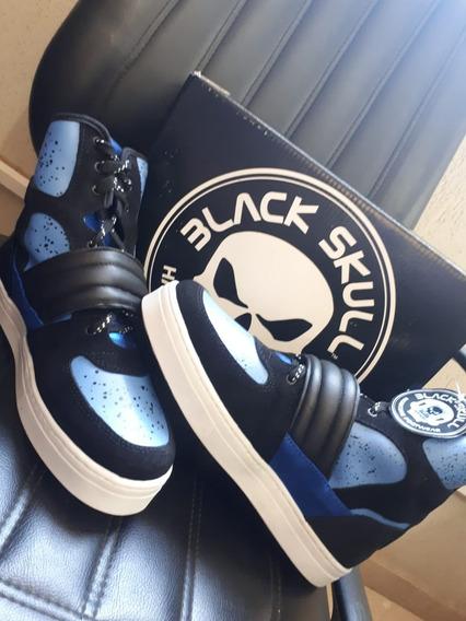 Bota De Treino - Academia Black Skull Bs 4050 - Promoção