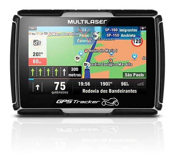 Navegador Gps Tracker Para Moto Tela 4.3 Gp040