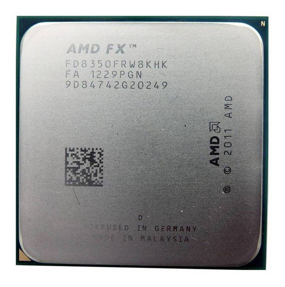Processador AMD FX 8350 Black Edition 8 núcleos 64 GB