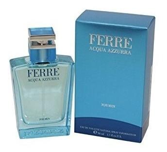 Perfume Ferre Acqua Azzurra For Men 50ml - Novo Lacrado