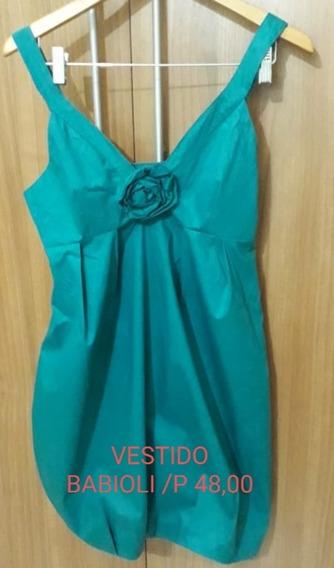 Vestido Usado Marca Babioli P R$ 48,00