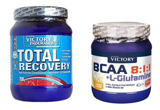 Combo Bcaa 8.1.1. - Total Recovery - Proteína - Victory
