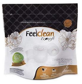 Papel Higiênico Umedecido Feelclean Ecosoft - 1 Refil