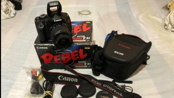 Canon T3i Completa Com Lente Ef-s 18-55mm. A Vista 1350