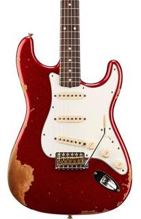 Guitarra Fender Custom Shop 60s Stratocaster Heavy Relic Red