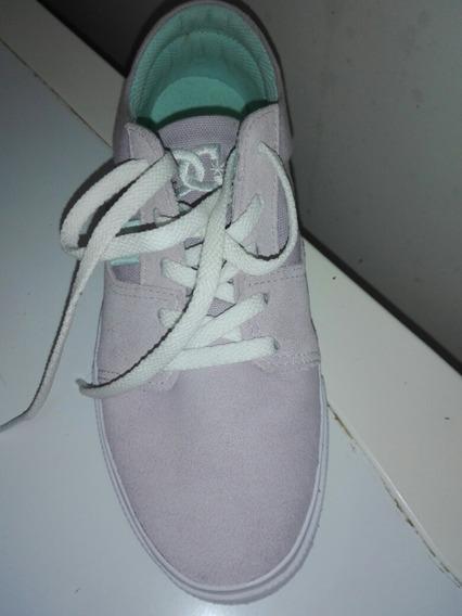 Zapatillas Nuevas Dc. Num. 36. Color Rosa.