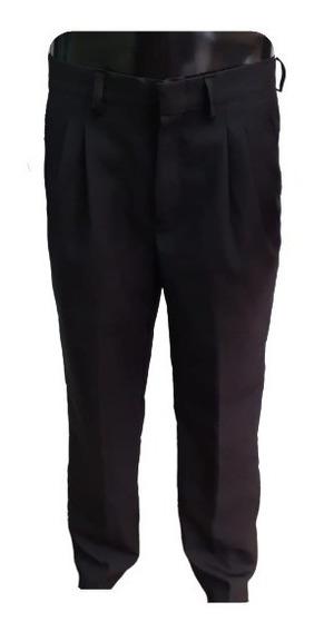 Pantalón Hombre Vestir Pinzado Mozo Camarero Trabajo