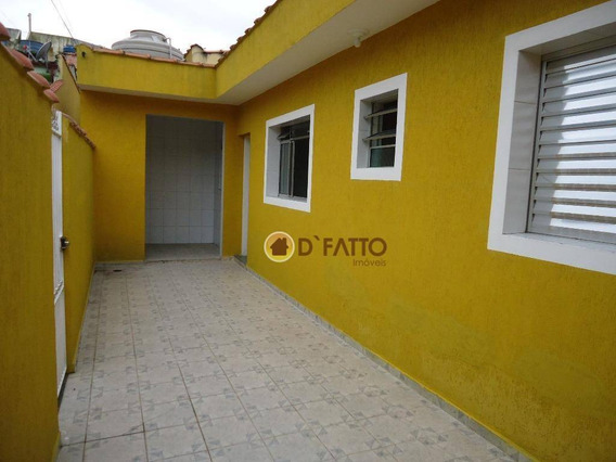Casa Com 1 Dormitório Para Alugar, 40 M² Por R$ 850,00/mês - Vila São Rafael - Guarulhos/sp - Ca0175
