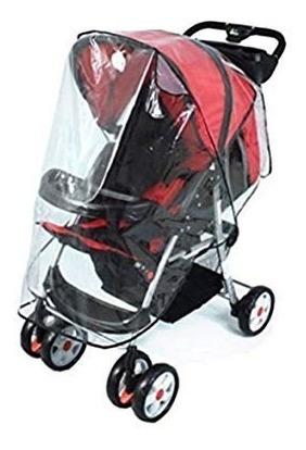 4b3ce4a02 Plástico Forro Protector Lluvia Coche Paseador Para Bebe - $ 18.000 ...